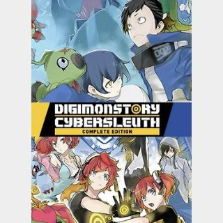 Digimon Story Cyber Sleuth: Complete Edition (PC) Steam Key GLOBAL
