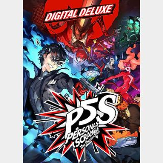 Persona 5 Strikers - Digital Deluxe Edition (PC) Steam Key GLOBAL