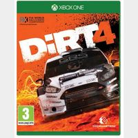 DiRT 4 Xbox One Key GLOBAL