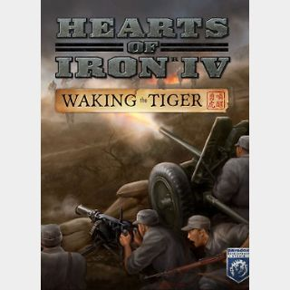 Hearts of Iron IV: Waking the Tiger (PC) Steam Key GLOBAL