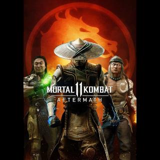 Mortal Kombat 11: Aftermath (DLC) Steam Key GLOBAL