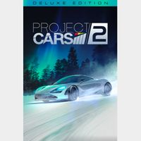 Project Cars 2 (Deluxe Edition) Steam Key GLOBAL