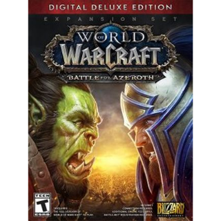 World of Warcraft: Battle for Azeroth Deluxe Edition Battle.net Key EUROPE