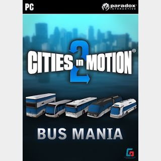 Cities in Motion 2: Bus Mania (PC) Steam Key GLOBAL