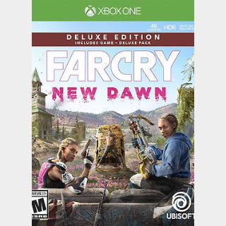 Far Cry New Dawn Deluxe Edition Xbox ONE