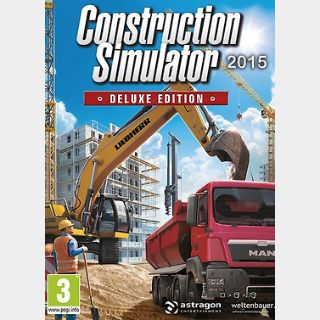 Construction Simulator 2015 Deluxe Edition (PC) Steam Key GLOBAL