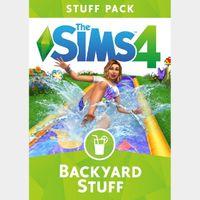 The Sims 4: Backyard Stuff (DLC) Origin Key GLOBAL