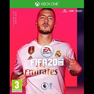FIFA 20 Xbox One Key GLOBAL