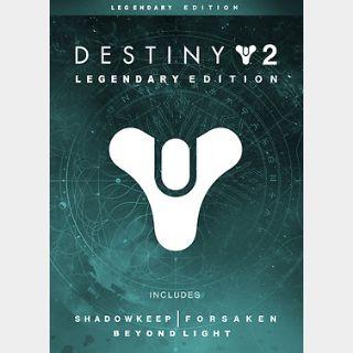Destiny 2: Legendary Edition (PC) Steam Key GLOBAL