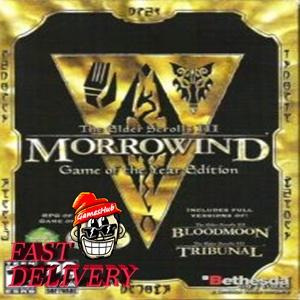 The Elder Scrolls III: Morrowind GOTY Edit✅[STEAM][CD KEY][REGION:GLOBAL][DIGITAL DELIVERY FAST AND SAFE]✅