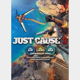 Just Cause 3 DLC: Air, Land & Sea Expansion Pass (PC) Steam Key GLOBAL