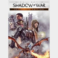 Middle-earth: Shadow of War (Definitive Edition) Steam Key GLOBAL