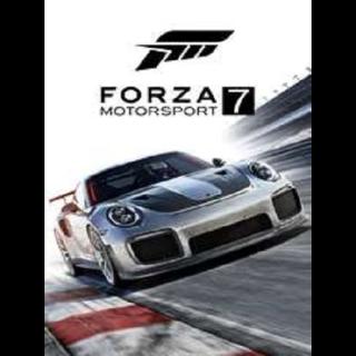 Forza Motorsport 7 XBOX One  Key Windows 10 GLOBAL