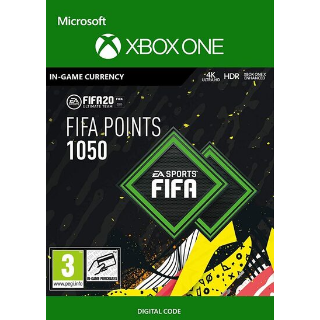 FIFA 20 - 1050 FUT Points (XboxOne) Xbox Live Key GLOBAL