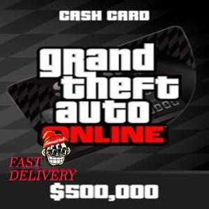 Grand Theft Auto Online: Bull Shark Cash Card Key XBOX ONE XBOX LIVE GLOBAL 500 000 USD[GTA V][GTA 5]