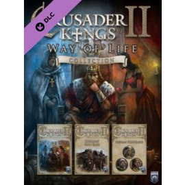 Crusader Kings II - Way of Life Collection Steam Key GLOBAL