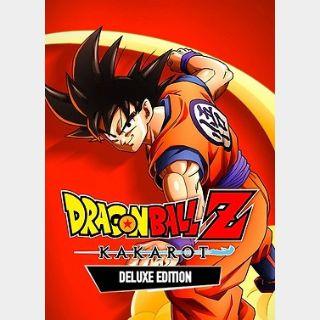 Dragon Ball Z Kakarot Deluxe Edition (PC) Steam Key GLOBAL