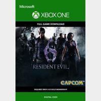 Resident Evil 6 (Xbox One) Xbox Live Key UNITED STATES