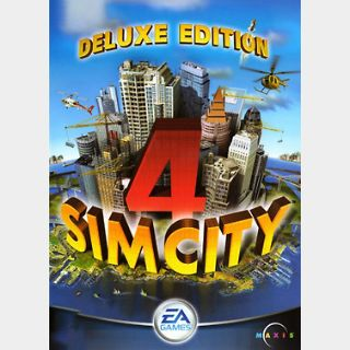 SimCity 4 (Deluxe Edition) (PC) Steam Key GLOBAL