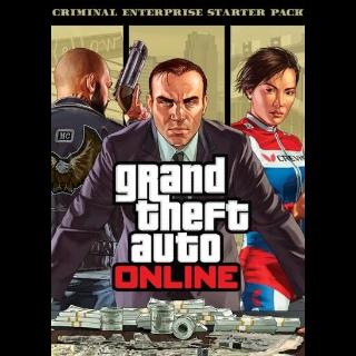 Grand Theft Auto V GTA: Criminal Enterprise Starter Pack (DLC) Rockstar Games Launcher Key GLOBAL