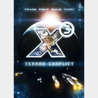 X3: Terran Conflict (PC) Steam Key GLOBAL