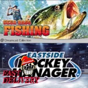 SEGA Bass Fishing + Eastside Hockey Manager Steam Key GLOBAL