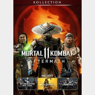 Mortal Kombat 11 Aftermath Kollection (PC) Steam Key GLOBAL