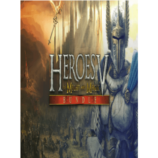 Heroes of Might & Magic 5: Bundle GOG.COM Key GLOBAL