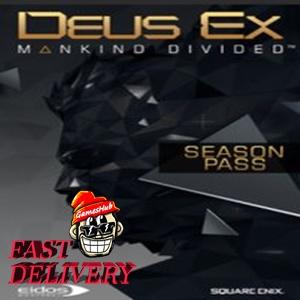 Deus Ex: Mankind Divided - Season Pass Key Steam GLOBAL