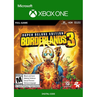 Borderlands 3 Super Deluxe Edition (Xbox One) Xbox Live Key GLOBAL