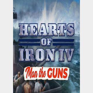 Hearts of Iron: Man The Guns (PC) Steam Key GLOBAL