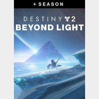 Destiny 2: Beyond Light + Season (PC) Steam Key GLOBAL