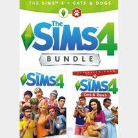The Sims 4 + Cats & Dogs - Bundle Origin Key GLOBAL