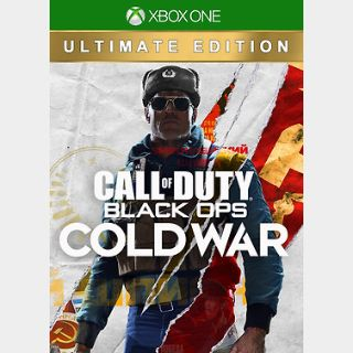 Call of Duty: Black Ops Cold War - Ultimate Edition Xbox ONE