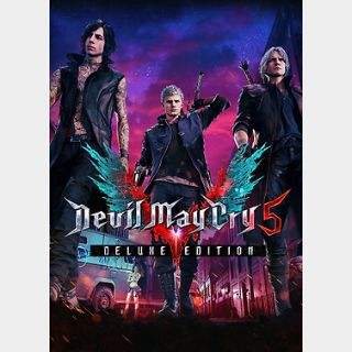 Devil May Cry 5 Deluxe Edition (PC) Steam Key GLOBAL