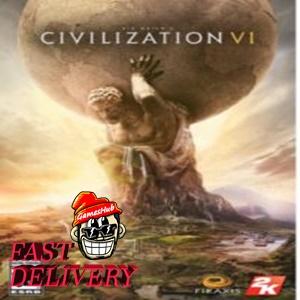 Sid Meier's Civilization VI ✅[STEAM][CD KEY][REGION:GLOBAL][DIGITAL DELIVERY FAST AND SAFE]✅