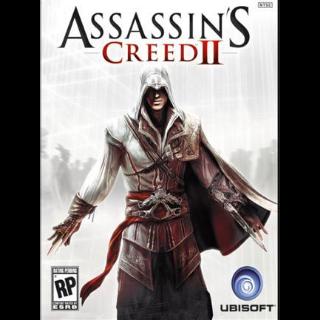 Assassin's Creed II Uplay Key GLOBAL