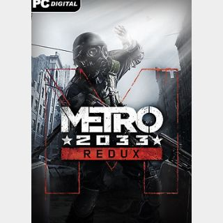Metro 2033 Redux (PC) Steam Key GLOBAL