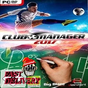 Club Manager 2017 Steam Key GLOBAL