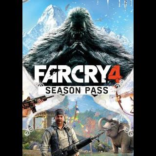 Far Cry 4 - Season Pass (DLC) Uplay Key GLOBAL