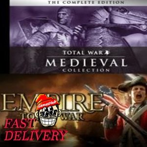 Empire: Total War Collection + Medieval: Total War Collection Steam Key GLOBAL