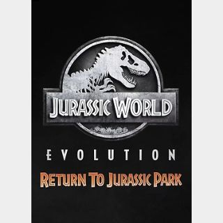 Jurassic World Evolution: Return To Jurassic Park (PC) Steam Key GLOBAL