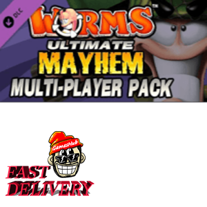 Worms: Ultimate Mayhem - Multiplayer Pack Key Steam GLOBAL