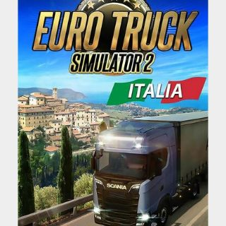 Euro Truck Simulator 2 - Italia (DLC) Steam Key GLOBAL