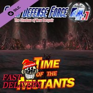 EARTH DEFENSE FORCE 4.1 The Shadow of New Despair Mission Pack 1: Time of the Mutants Steam Key GLOBAL
