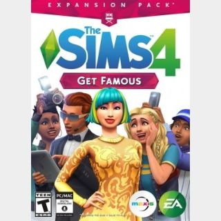 The Sims 4: Get Famous (PC) Origin Key GLOBAL