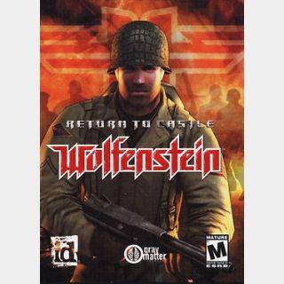 Return to Castle Wolfenstein (PC) Steam Key GLOBAL