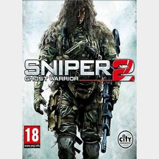 Sniper: Ghost Warrior 2 (PC) Steam Key GLOBAL