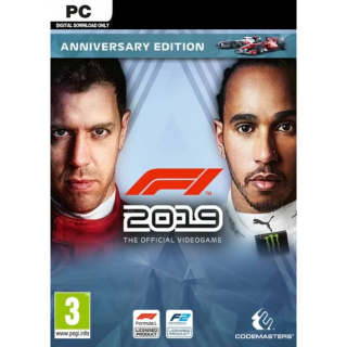 F1 2019 Anniversary Edition Steam Key GLOBAL
