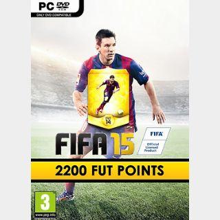 FIFA 15: 2200 FUT points (PC) Origin Key GLOBAL